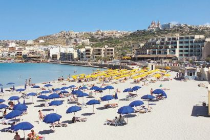 Mellieha Bay Resort Malta Information Holidays Hotels Apartments Attractions And Places