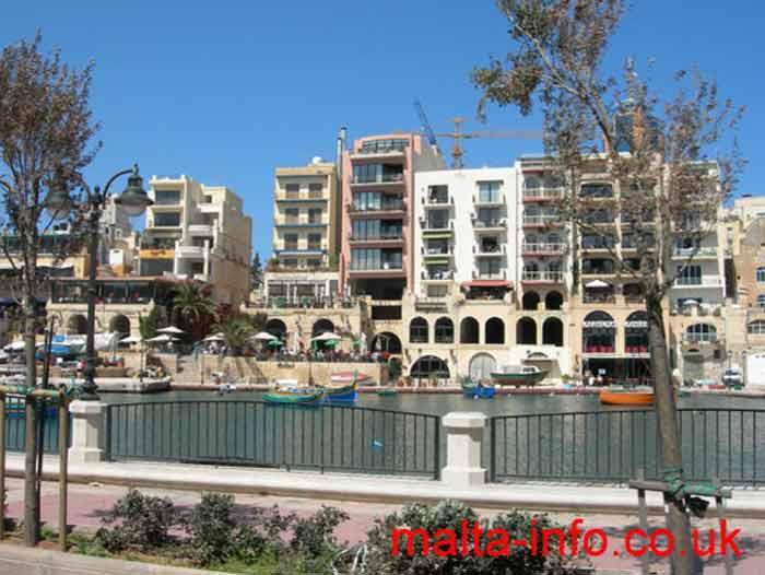 St  Julian's resort, Malta - Information, holidays, hotels