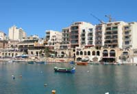 Photograph of the Spinola Waterfront, St. Julian's